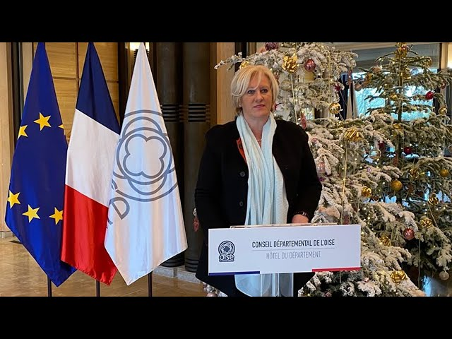 Les vœux de la Présidente du Conseil départemental de l'Oise