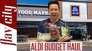 What To Buy At ALDI Right Now - Healthy BUDGET Grocery Haul