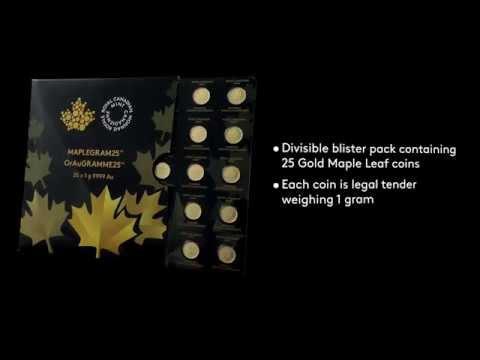Das Maplegram - Gold