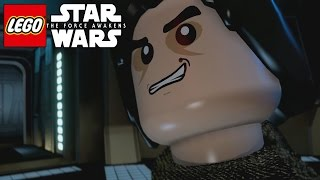 LEGO Star Wars The Force Awakens All Cutscenes Movie (Game Movie) FULL MOVIE