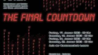 Final countdown (techno remix)