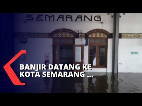 Tak Hanya Jakarta, Semarang Juga Direndam Banjir