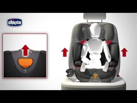 Chicco Автокресло OASYS Evo FixPlus  гр.2/3 цв. ELEGANCE