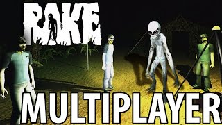 NOW THERE ARE 4 | Rake Multiplayer Part 1