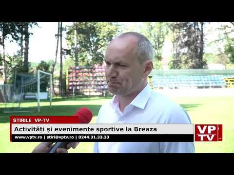 Activități și evenimente sportive la Breaza