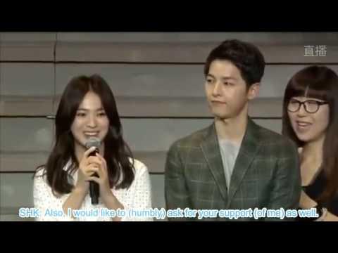 [ENG SUB] 20160617 Song Joong Ki & Song Hye Kyo Chengdu Fanmeet (Part 3)