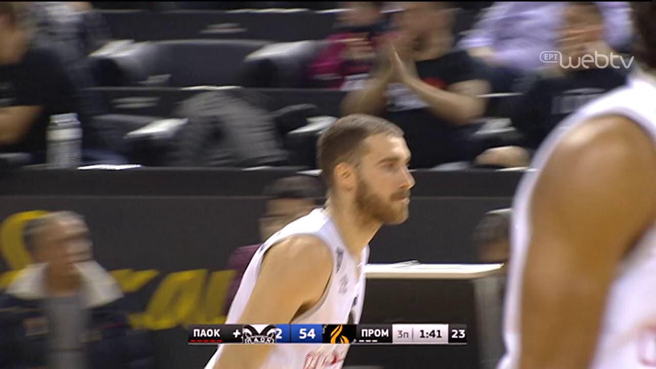 Basket League 2019-2020: ΠΑΟΚ – ΠΡΟΜΗΘΕΑΣ | HIGHLIGHTS | 21/12/2019 | ΕΡΤ