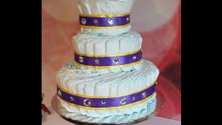 DIY | Super Easy Diaper Cake