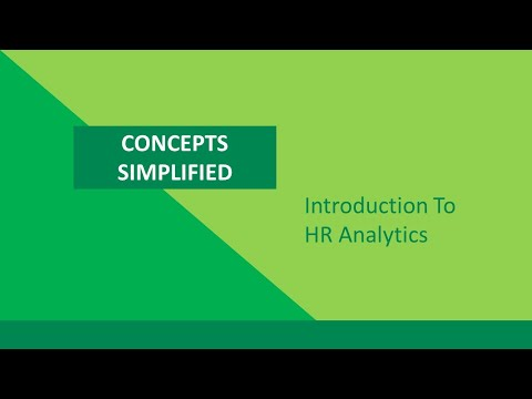 Introduction To HR Analytics - YouTube