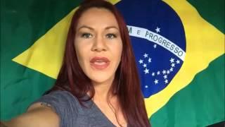 "Cristiane ""Cyborg"" Santos Poleca FightExpert Magazine"