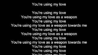 Cazzette - Weapon lyrics