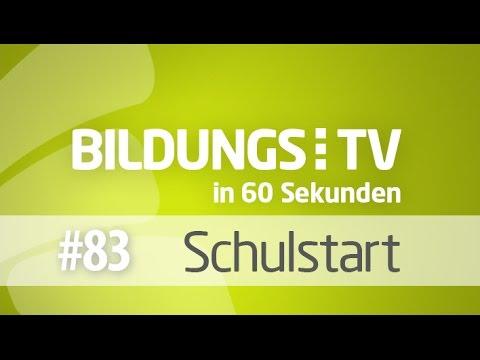 BildungsTV in 60 Sekunden - zum Schulstart