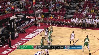 1st Quarter, One Box Video: Portland Trail Blazers vs. Boston Celtics