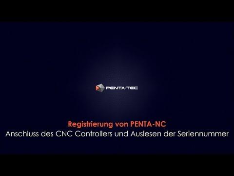 PENTA-NC: Registrierung