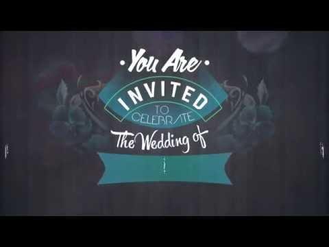 Video wedding invitation nurul & surya by WHVERproject