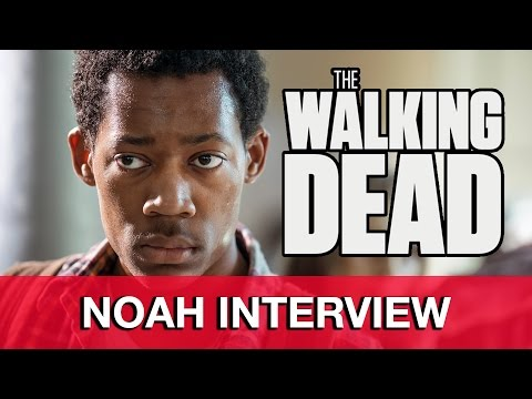 The Walking Dead Noah Interview - Tyler James Williams | MTW