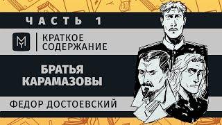 Краткое содержание - Братья Карамазовы (часть первая)