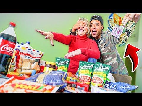 minha mãe não tinha dinheiro e nada para comer... *surpresa*
