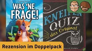 Was 'ne Frage! & Kneipen Quiz - Review im Doppelpack