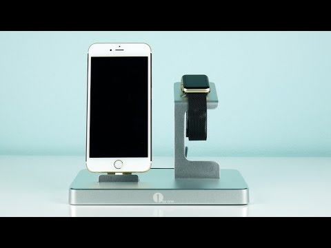 3 in 1 Ladestation von 1byone - Die beste Ladestation für das iPhone und die Apple Watch?