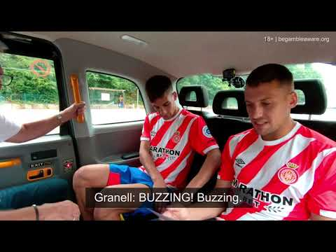 Watch as Man City's Chappy teaches the Girona FC players 'Manc'…