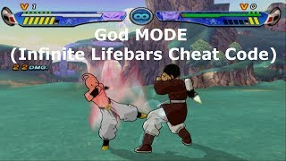 Dragon Ball Z Budokai 3 Cheat Codes : God Mode (Infinite Life)