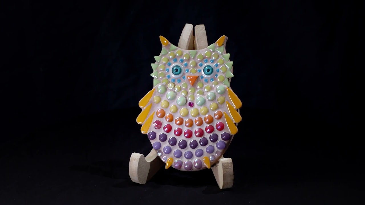 Baby Owl, Multicolour, 16 cm, DIY