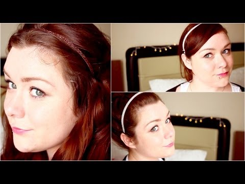 3 Haarreif Frisuren by neniandstyle