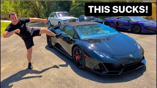 5 THINGS I HATE ABOUT MY 2020 LAMBORGHINI HURACAN EVO!