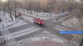 Авария с пожарной машиной - Абакан 24