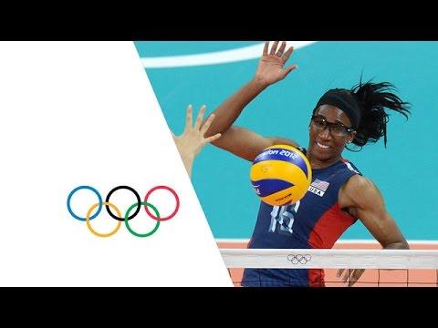 Women's Volleyball Pool B - Korea v USA | London 2012 Olympics