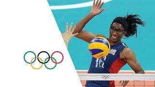Women's Volleyball Pool B - Korea v USA   London 2012 Olympics