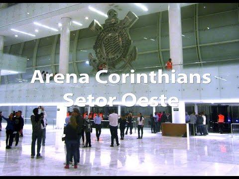 Veja os novos detalhes do Setor Oeste da Arena Corinthians