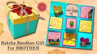 Raksha Bandhan Gift For Brother | Gift Box | Best Rakhsha Bandhan Gift |Raksha Bandhan Greeting Card