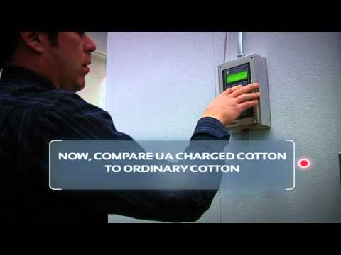 UA Charged Cotton vs. Ordinary Cotton: Literally SEE The Difference