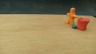 preview picture of video 'SALVA EL PLANETA RECICLA ANIMACION EN PLASTILINA'
