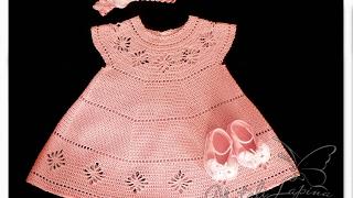 Crochet Patterns| For Free |crochet Baby Dress| 1566