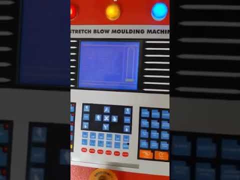 Fully Automatic 4 Cavity PET Bottle Blowing Machine