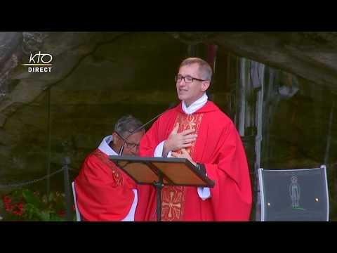 Messe à Lourdes du 3 Juillet 2020