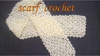 LACE SCARF KNITTING TUTORIAL  Lace Scarf Knitting Pattern