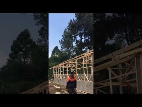 Proses Pembangunan Kandang Cakra Farm