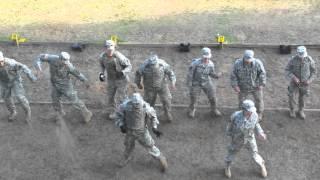Army Cupid Shuffle training at the range