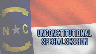 Unconstitutional Special Session