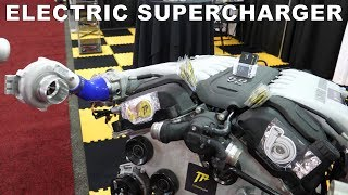 TorqAmp 48V Electric Turbo Supercharger at SEMA 2019