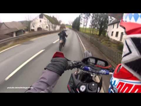Yamaha DT 125 Crash