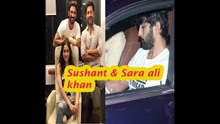 Sushant Singh Rajput and sara ali khan snapped for movie  Kedarnath