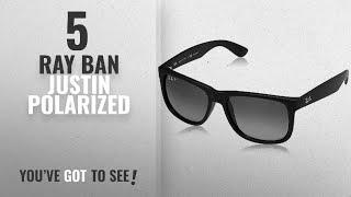Top 10 Ray Ban Justin Polarized   Winter 2018    Ray-Ban Men s 0RB4165 6941b36293