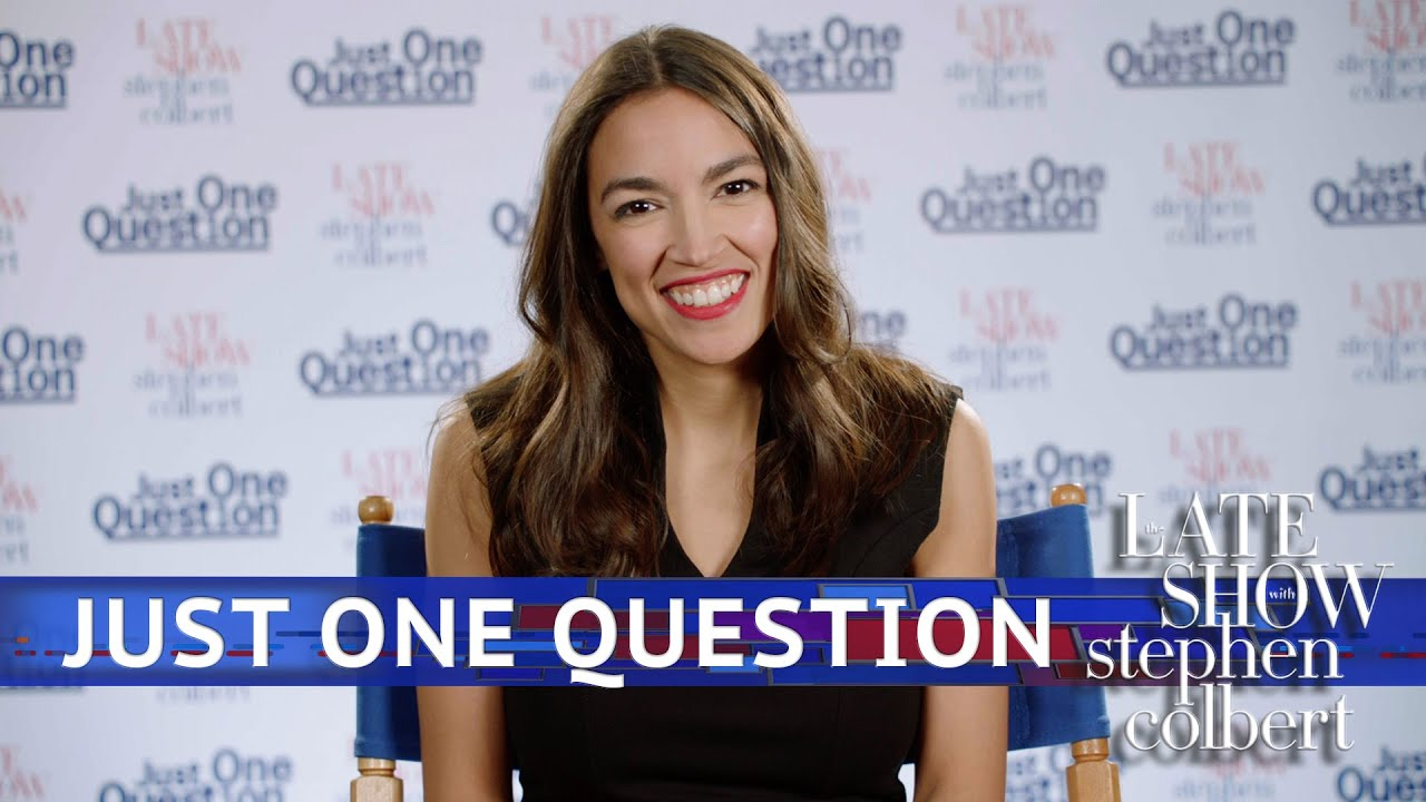 Just One Question With Rep. Alexandria Ocasio Cortez thumbnail