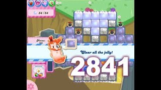 Candy Crush Saga Level 2841 (No boosters)