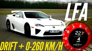 Lexus LFA test drive 10 years later : drift + acceleration by Motorsport Magazine
